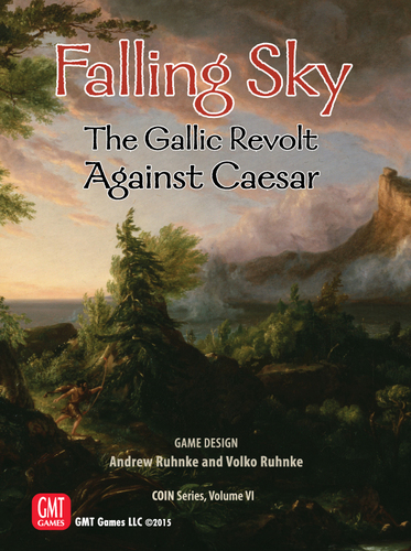Falling Sky: The Gallic Revolt Against Caesar társasjáték