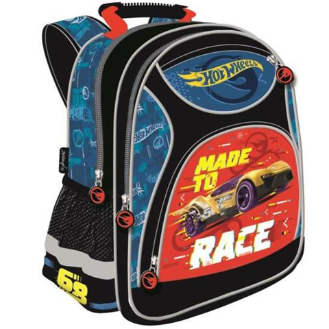 181592ac7032 Hot Wheels Made to Race iskolatáska, hátizsák 29x38x11cm vásárlás a ...