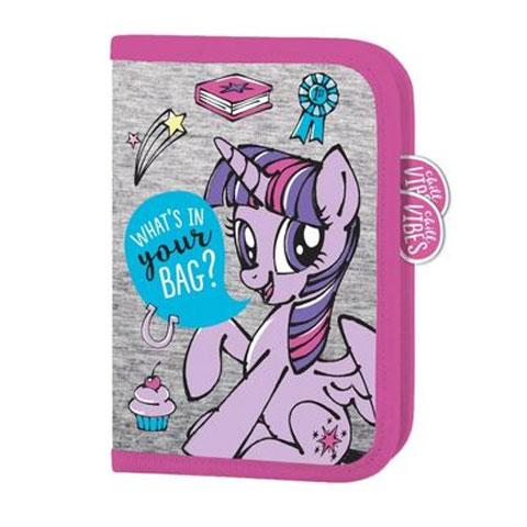 45c928796f8f My Little Pony Kihajtható rózsaszín-szürke tolltartó 21x14x4cm ...
