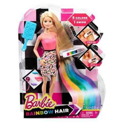 e6eab2c3349f Barbie Csodahaj szivárvány baba kiegészítőkkel - Mattel vásárlás a ...