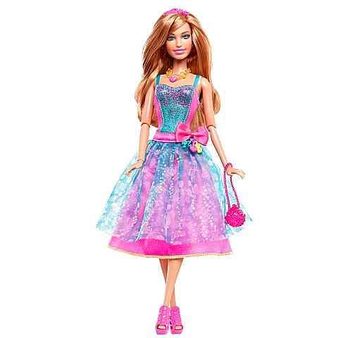cc8544384d Barbie Fashionista baba türkiz estélyi ruhában - Mattel vásárlás a ...