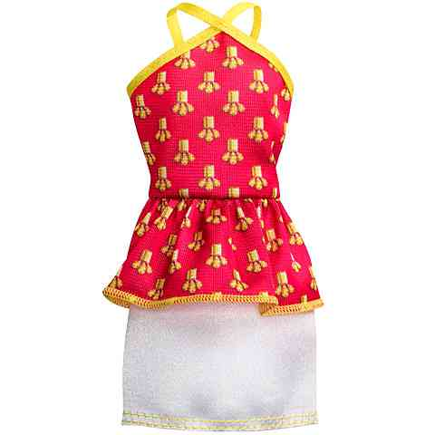 Barbie Piros ruha - Mattel vásárlás a Játékshopban f0c4bd53b5