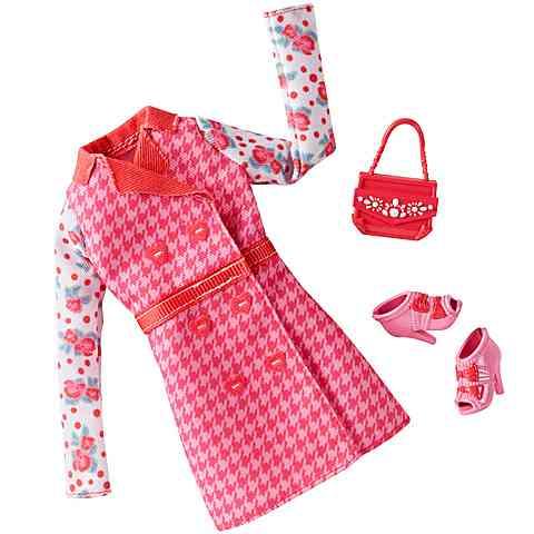 d7f320685b Barbie Rózsaszín kabát ruhaszett kiegészítőkkel - Mattel vásárlás a ...