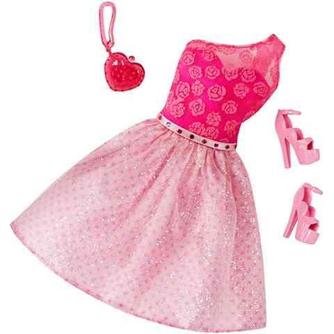 c02498372a Barbie Rózsaszín virágos ruhaszett kiegészítőkkel - Mattel vásárlás ...