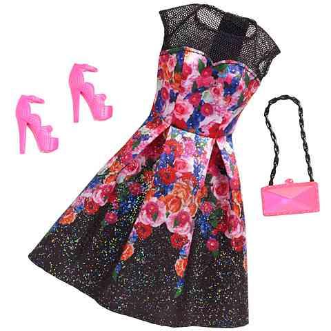 3e79e9990e Barbie Virágos ruhaszett kiegészítőkkel - Mattel vásárlás a Játékshopban