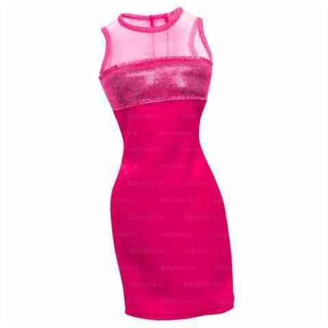 Barbie Barbie baba rózsaszín koktélruha - Mattel vásárlás a Játékshopban 65fdcc5fd8