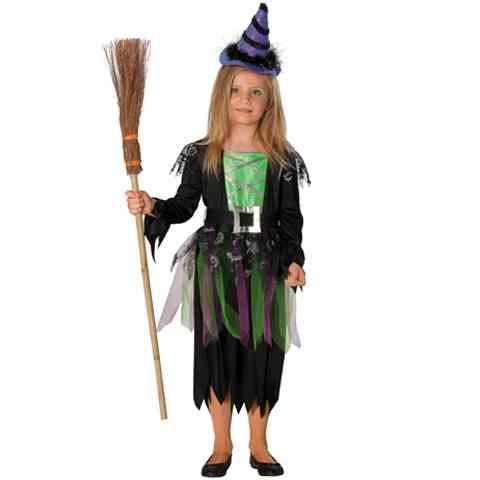 Boszorkány Haloween jelmez 152-es méret - Rubies vásárlás a Játékshopban 6e7865c9f2
