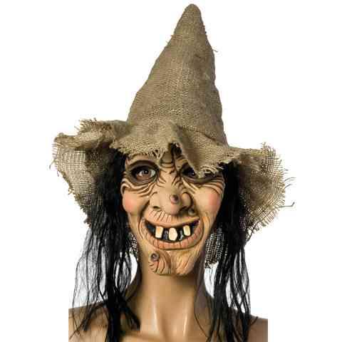 Boszorkány maszk kalappal - Rubies vásárlás a Játékshopban ab8daca029