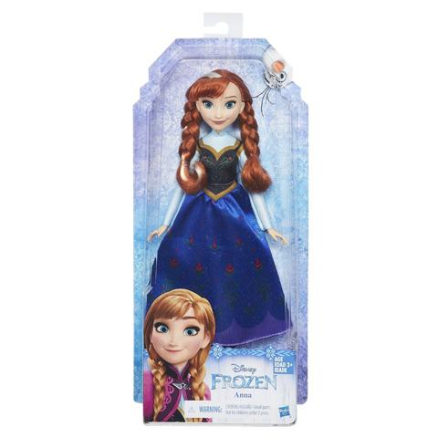 Disney Hercegnők Téli Anna hercegnő Classic baba 28 cm - Hasbro ... 76534bfeb4