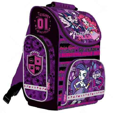 Én kicsi pónim Equestria Girls anatómiai iskolatáska hátizsák ... bd90dbdc84