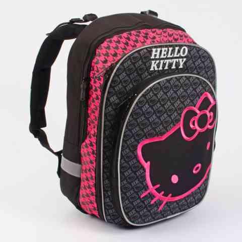 088b80ba2c7a Hello Kitty Black sorozat - ergonomikus iskolatáska hátizsák ...
