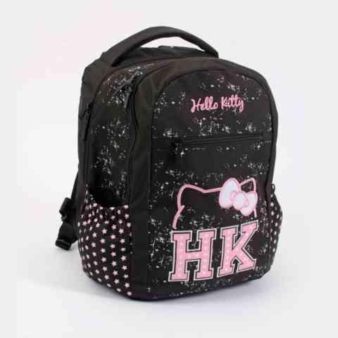 2d7b4aca3db8 Hello Kitty Black Icon sorozat - ergonomikus iskolatáska hátizsák ...