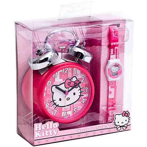 Hello Kitty ébresztőóra és karóra szett vásárlás a Játékshopban e28b60216d