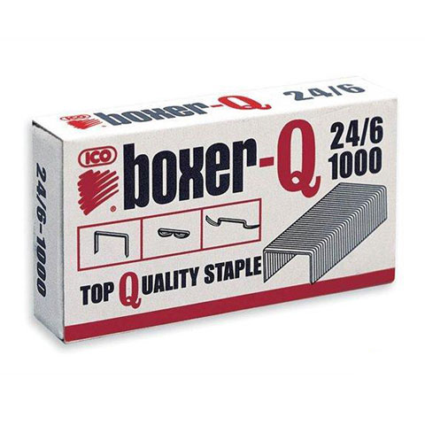 ICO BOXER-Q 24 6 Tűzőkapocs vásárlás a Játékshopban a88801c236