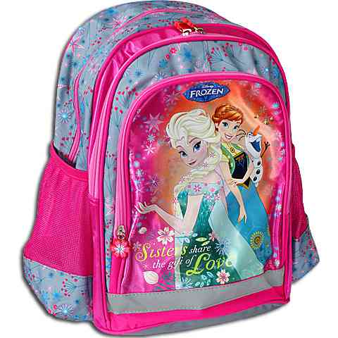 3dabd61832e1 Jégvarázs Anna és Elsa pink iskolatáska hátizsák vásárlás a Játékshopban