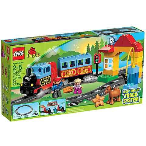 LEGO® DUPLO®: Első vasútkészletem (10507)