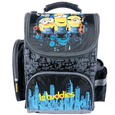 Minyonok ergonomikus iskolatáska hátizsák fekete színben vásárlás a ... 610df796a0