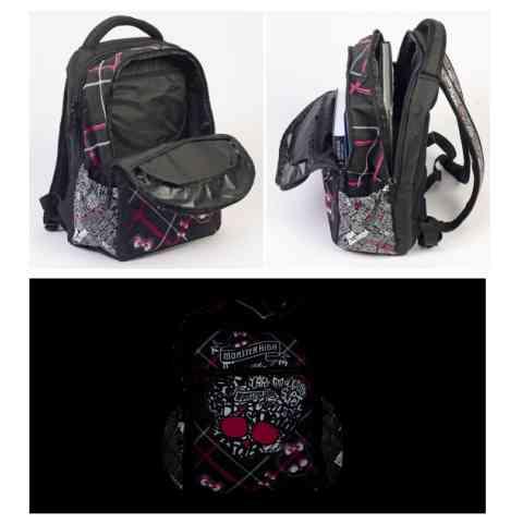 2526f9a96199 Monster High Anatomic iskolatáska hátizsák Monster High Anatomic iskolatáska  hátizsák