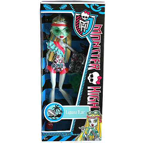 Monster High: Lagoona Blue vízparti baba