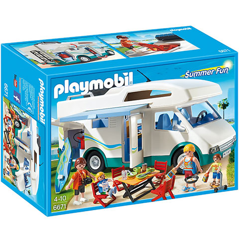 Playmobil: Négykerekű nyaraló (6671)