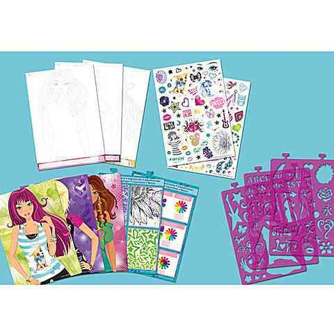 dc987164f1 Style ME Up! Divatos pólótervező füzet vásárlás a Játékshopban