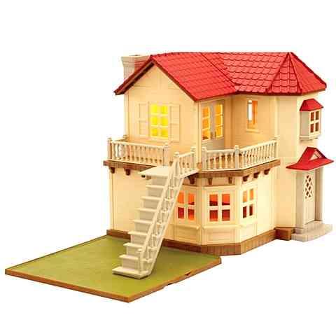 ff792af84738 Sylvanian Families Ház világítással vásárlás a Játékshopban