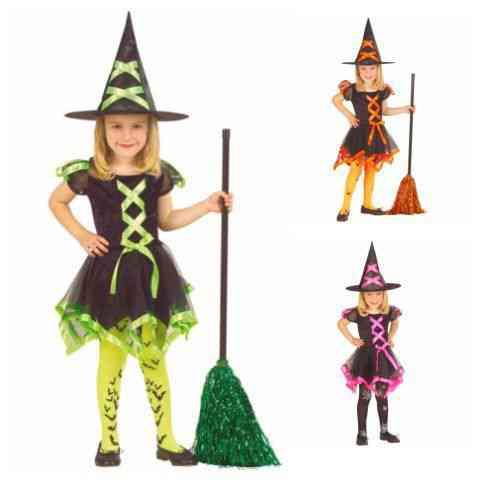 Szalagos boszorkány jelmez 4-féle változatban S méret vásárlás a ... 0740d8459e