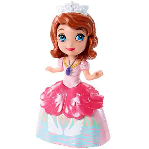 Szófia Hercegnő figura hattyú mintás tuhában - Mattel vásárlás a ... 36929f99bc