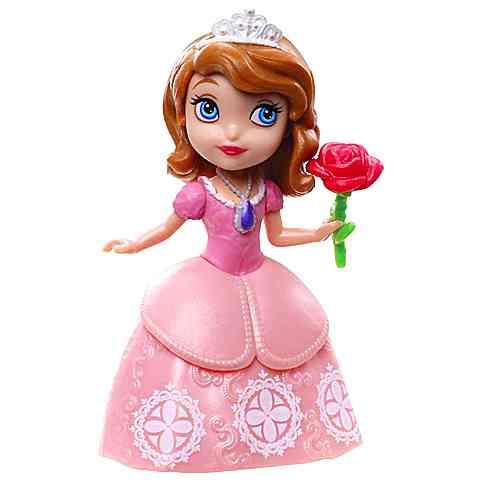 Szófia Hercegnő figura rózsaszín ruhában- Mattel vásárlás a Játékshopban 580c5cbb41
