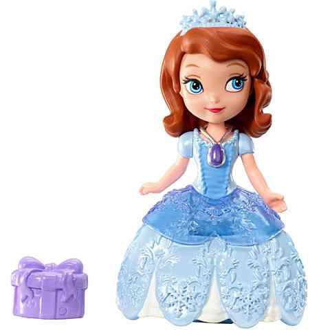 Szófia hercegnő mini baba ünnepi ruhában - Mattel vásárlás a ... 03bfd41ccd