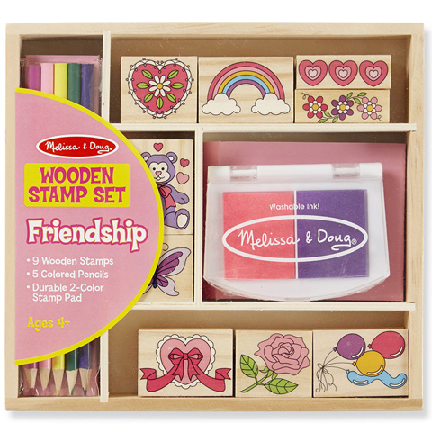dbcb8f936b Barátság fa nyomda készlet ceruzákkal - Melissa & Doug vásárlás a ...