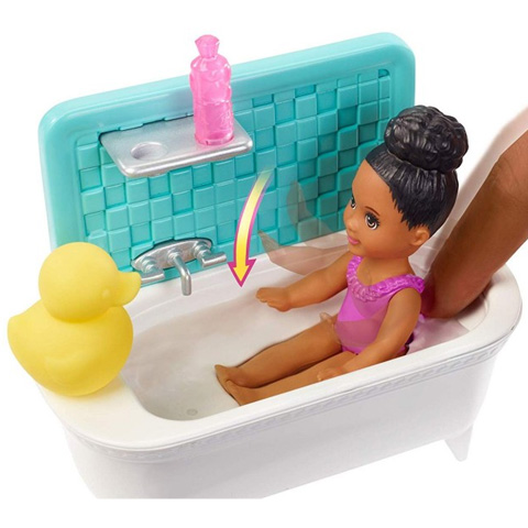 439f3aabae Barbie: Skipper bébiszitter játékszett - Mattel Barbie: Skipper bébiszitter  játékszett - Mattel