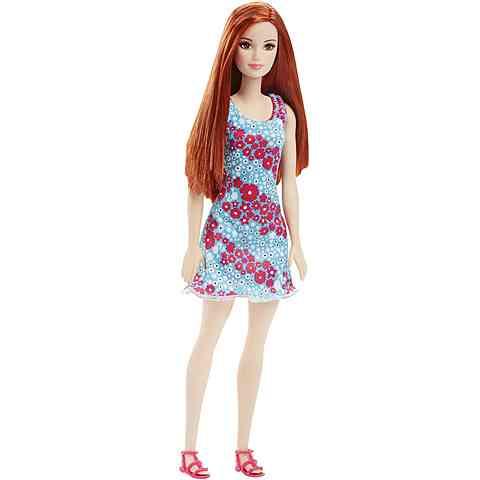 fb2c091692 Barbie Chic Vörös hajú baba virágmintás ruhában - Mattel vásárlás a ...