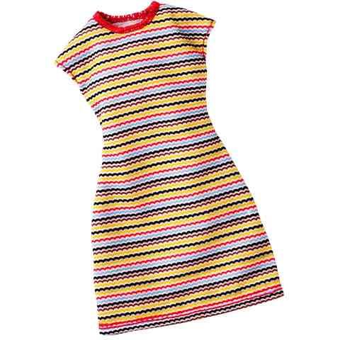 Barbie cikk-cakk mintás ruha - Mattel vásárlás a Játékshopban 55797dd617