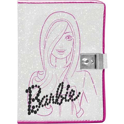 e33ed3596a0c Barbie csillogó napló kulccsal vásárlás a Játékshopban