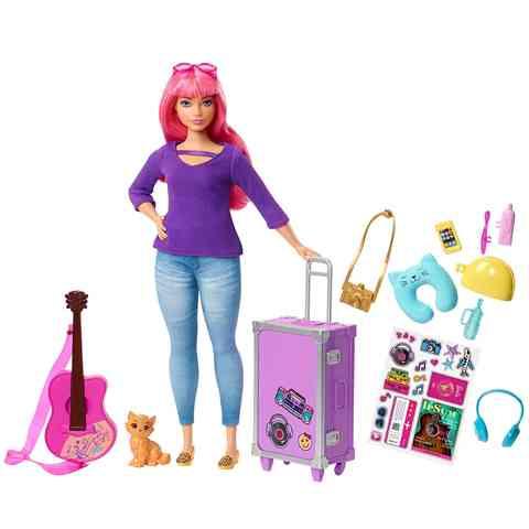 33155f15546b Barbie - Dreamhouse Adventures: Daisy baba utazó kiegészítőkkel - Mattel