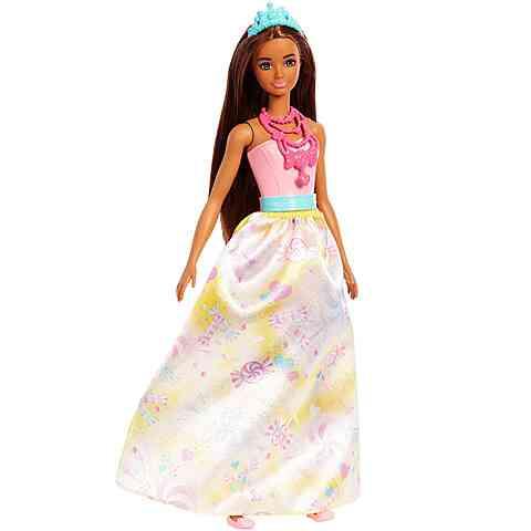 Barbie Dreamtopia hercegnő baba cukorkás ruhában - Mattel vásárlás a ... c851e0a4ae