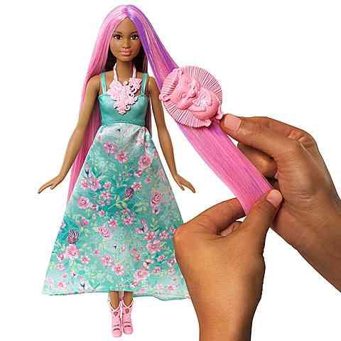 Barbie Dreamtopia Hajvarázs barna hercegnő baba - Mattel vásárlás a ... 62e8092e7f