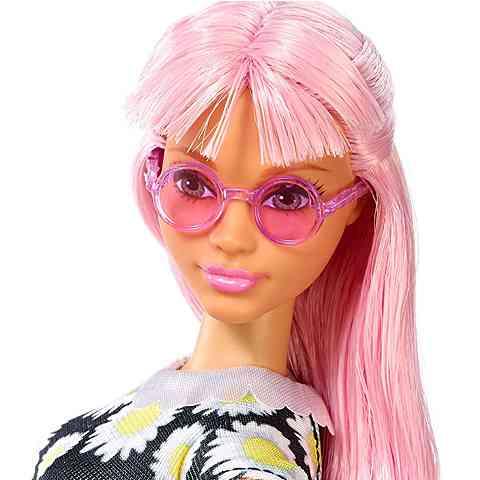 7a4b993296 Barbie Fashionistas Stílusos baba virágmintás ruhában - Mattel ...