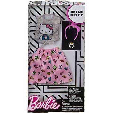 Barbie Hello Kitty betűs ruhaszett - Mattel vásárlás a Játékshopban 0bf1ca30b6