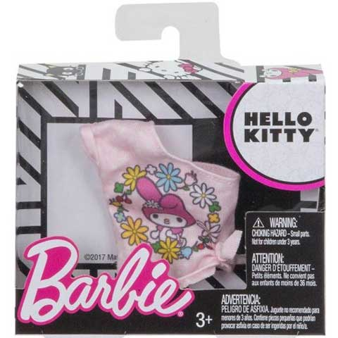 Barbie Hello Kitty mintás felső