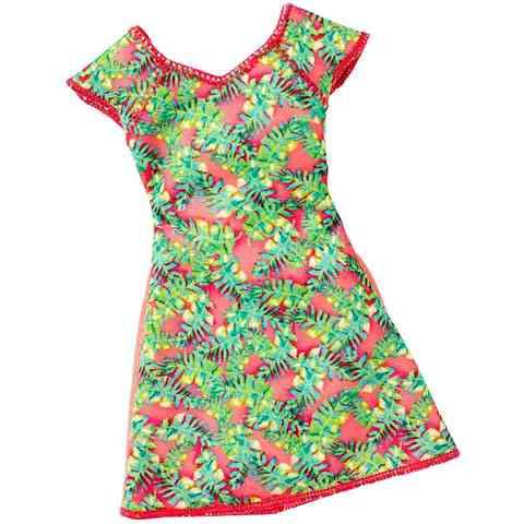 Barbie levél mintás ruha - Mattel vásárlás a Játékshopban 881819f7e2