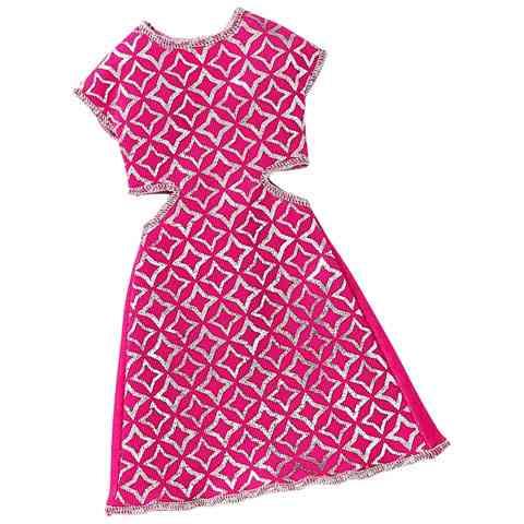 Barbie rózsaszín kivágott ruha - Mattel vásárlás a Játékshopban e89a53eaae