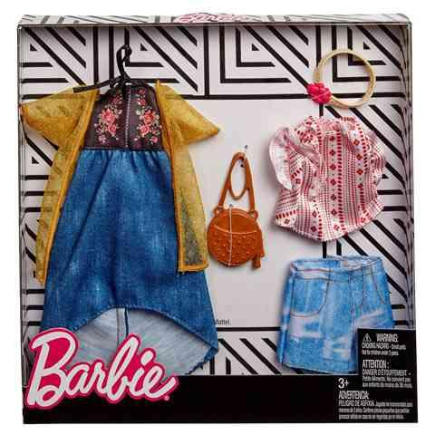 Barbie Dupla ruhaszett - Mattel vásárlás a Játékshopban 8e05ae6c7e