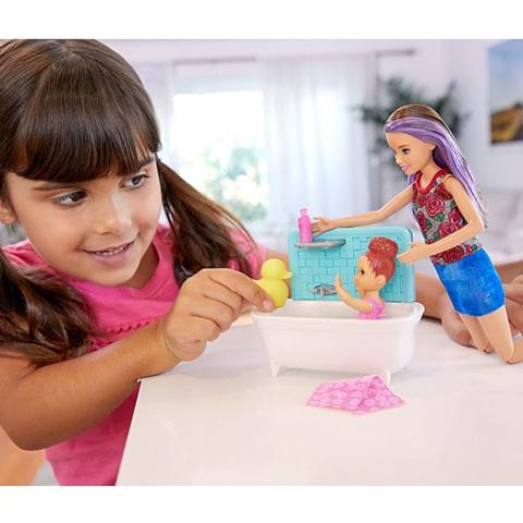 af23725470 Barbie Skipper fürdető bébiszitter játékszett - Mattel vásárlás a ...