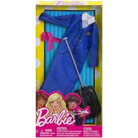 Barbie Stewardess ruhaszett - Mattel vásárlás a Játékshopban e43e4164ff