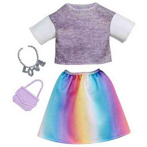 Barbie Szivárvány ruhaszett - Mattel vásárlás a Játékshopban b0a8762cb6