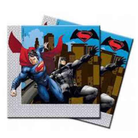 Batman vs. Superman két rétegű papírszalvéta 33x33cm 20db-os szett ... 9fa3c49d20