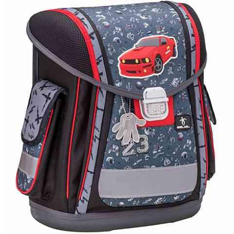 2c80a47ad922 Belmil Sporty Crazy Racing merevfalú iskolatáska, hátizsák vásárlás ...