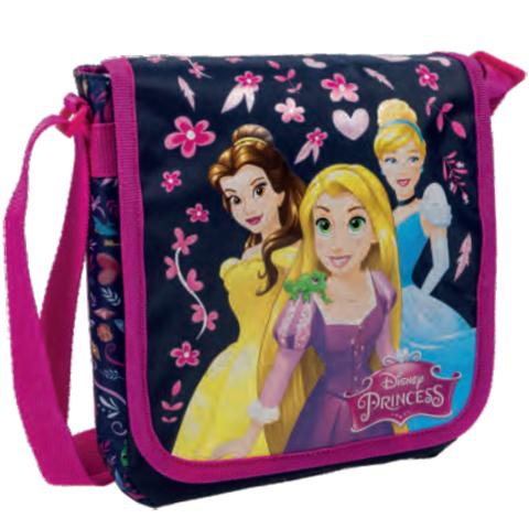 Disney Hercegnők rózsaszín-sötétkék oldaltáska vásárlás a Játékshopban 11d8ad6353